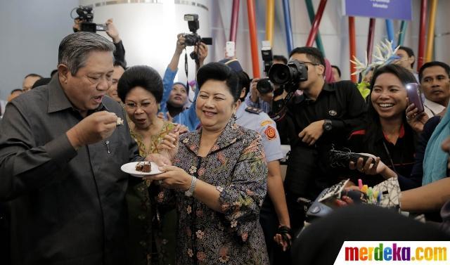 Presiden SBY rayakan hari ulang tahun ke-65